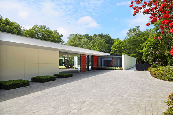 Grand Design for sale: Five-bedroom modernist property in Colgate, near Horsham, West Sussex