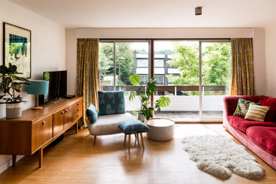 Norman Starrett 1960s modernist townhouse in Chislehurst, Kent