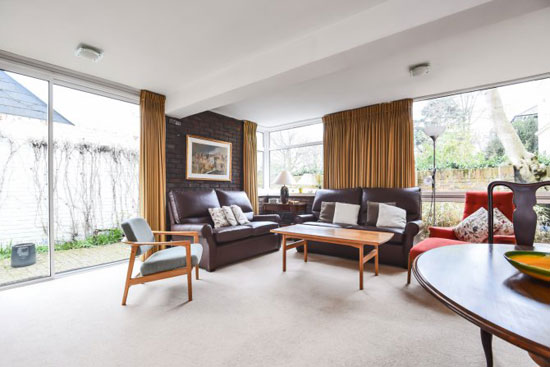 1960s Walter Greaves modernist property in Blackheath, London SE3