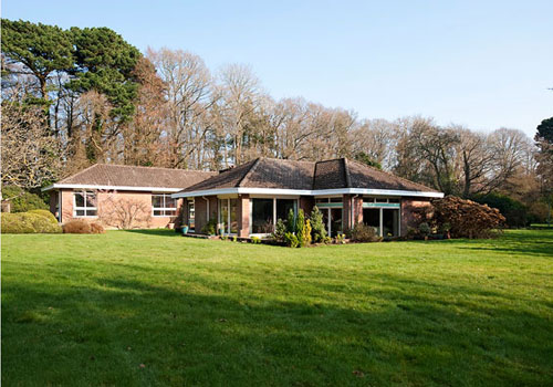 On the market: 1960s Peter Charles-Greed-designed property in Burley, New Forest, Hampshire