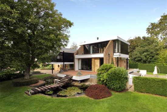 On the market: 1960s Michael Twigg-designed Medlars modernist property in East Grinstead, West Sussex