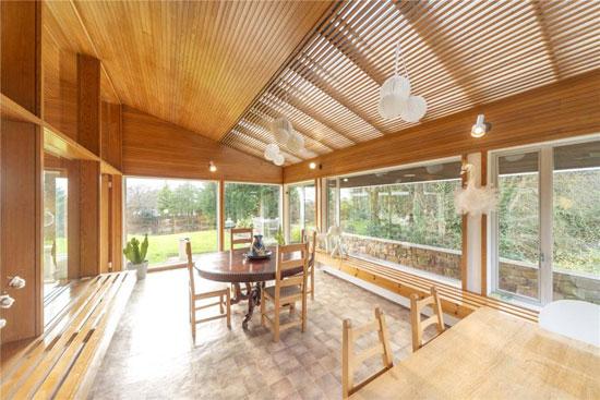 1960s Morris & Steedman modern house in Gullane, East Lothian, Scotland