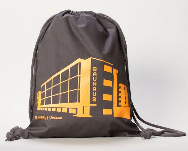8. Bauhaus Dessau gym bag