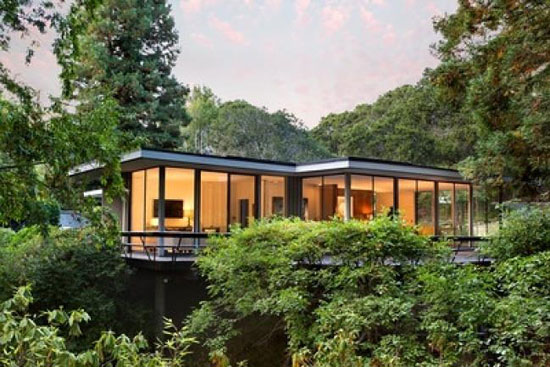 On the market: 1950s Bob Steiner-designed modernist property in Hillsborough, California, USA