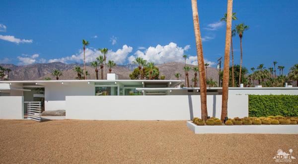 1950s John Porter Clark property in Palm Springs, California, USA