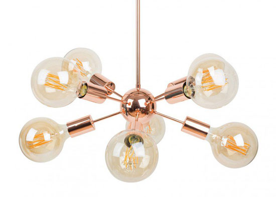 Design spotting: Sputnik-style Mega Junction Chandelier at Heal's