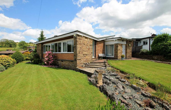 1950s midcentury renovation project in Bolton, Lancashire