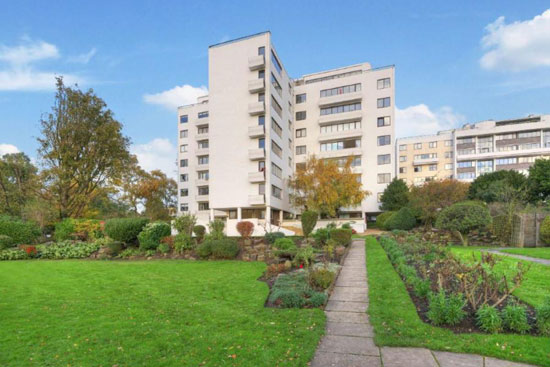Three-bedroom apartment in the 1930s Berthold Lubetkin-designed Highpoint building, London N6