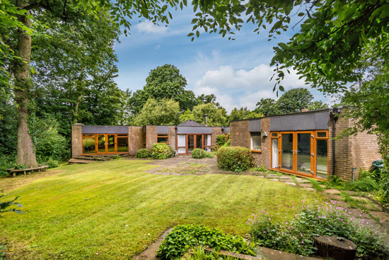 On the market: 1960s individually architect-designed property in Haywards Heath, West Sussex