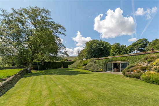 On the market: 1970s Arthur Quarmby-designed Underhill underground house in Holme, West Yorkshire