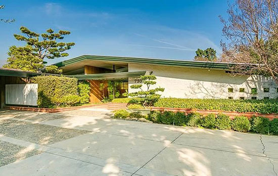 On the market: 1950s Harold B. Zook-designed midcentury modern property in San Marino, California, USA