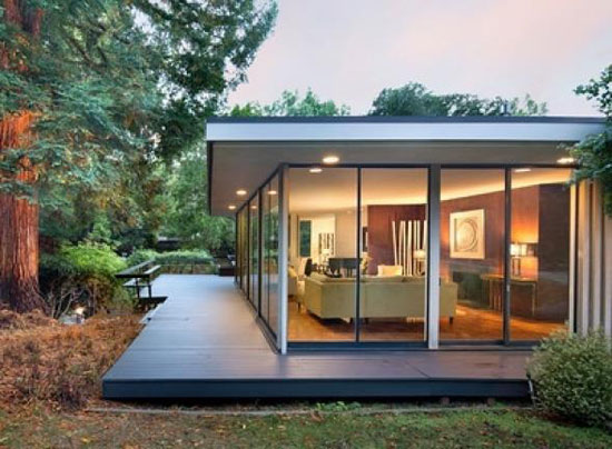 1950s Bob Steiner-designed modernist property in Hillsborough, California, USA