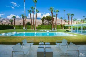 Celebrity modernism: 1950s John Porter Clark-designed property in Palm Springs, California, USA