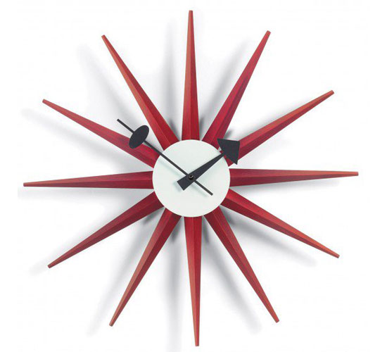 George Nelson Sunburst wall clock