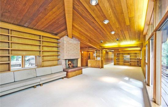 1950s midcentury modern: David Henken-designed property in New Castle, New York, USA