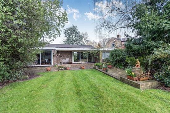 1950s modernist property in Ham, Richmond, Surrey
