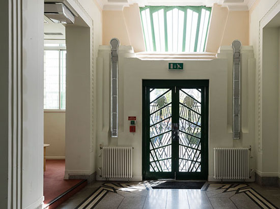 Apartments in the 1930s Wallis, Gilbert and Partners-designed art deco Hoover Building in Perivale, west London