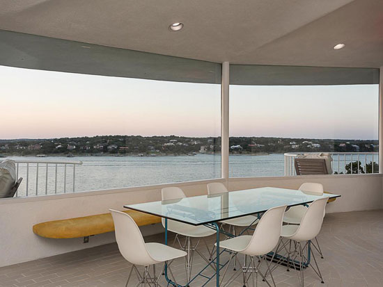 1970s modernism: John Covert Watson-designed property in Lakeway, Texas, USA
