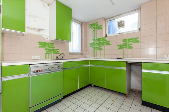 Renovation project: Apartment in 1970s modernist block in London N6