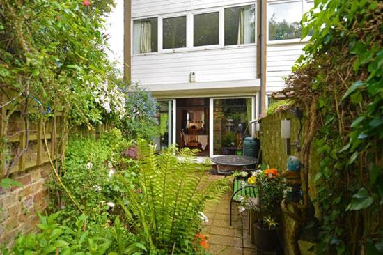 1960s modernist property in Highgate Village, London N6