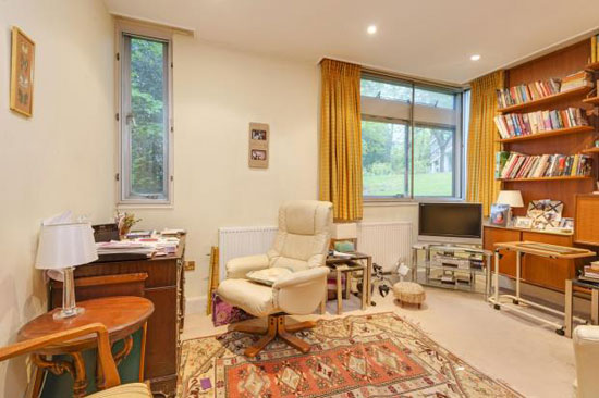 1960s modernism: Apartment in the Michael Lyell Associates-designed Oak Hill Park, Hampstead Village, London NW3