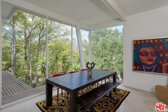 1950s midcentury modern: Harry Greene-designed property in Los Angeles, California, USA