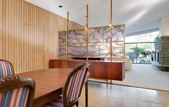 1950s Harold B. Zook-designed midcentury modern property in San Marino, California, USA