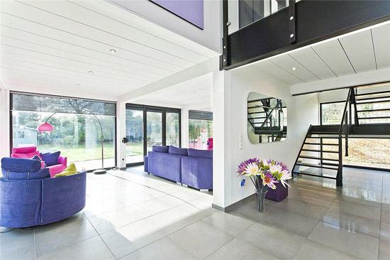 Three-bedroom Keitel Haus modernist property in Woburn Hill, Surrey