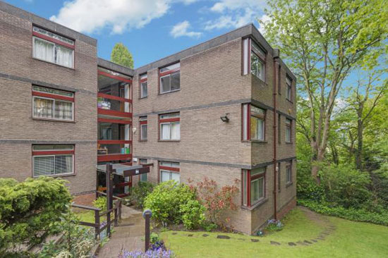 1960s modernism: Apartment in the Michael Lyell Associates-designed Oak Hill Park, Hampstead Village, London NW3