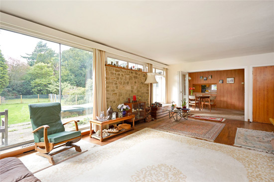 1960s modern renovation project in Sevenoaks, Kent