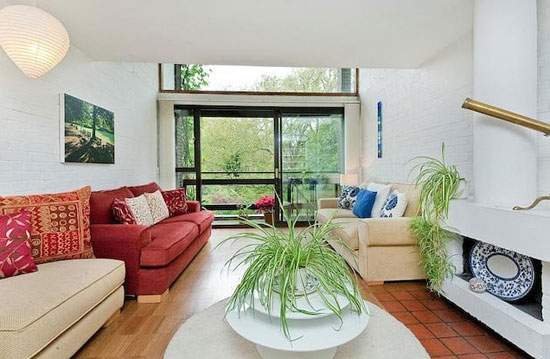 On the market: 1950s Bill Howell and Stan Amis-designed modernist townhouse in South Hill Park, Hampstead, London NW3