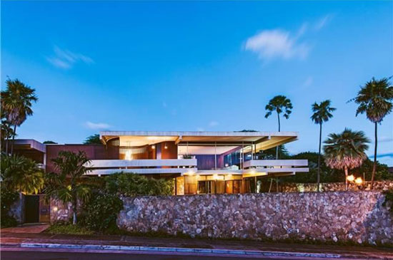 On the market: 1960s Howard Wong-designed midcentury property in Honolulu, Hawaii, USA