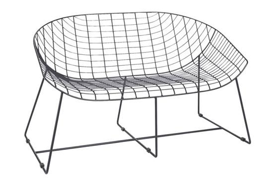1950s-style Leopold garden seating at Habitat