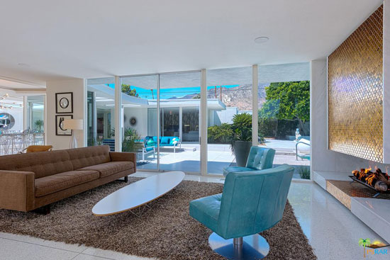 1960s Hal Levitt midcentury property in Palm Springs, California