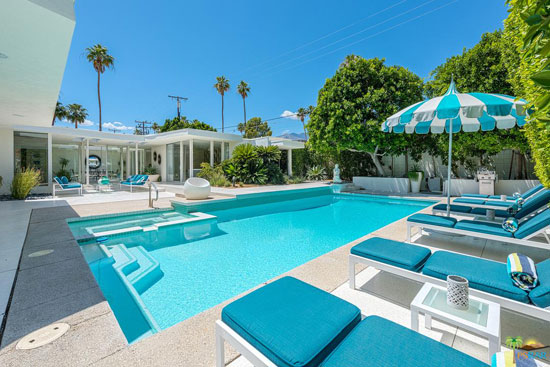 1960s Hal Levitt midcentury property in Palm Springs, California