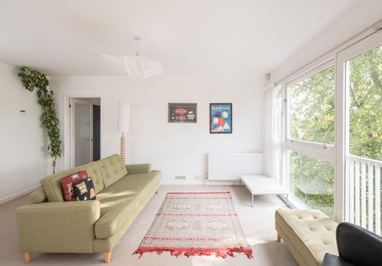 Two-bedroom Span apartment in grade II-listed Hallgate, Blackheath, London SE3