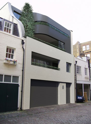 MR Partnership-designed Hallam Mews luxury five bedroom apartment in Marylebone, London W1