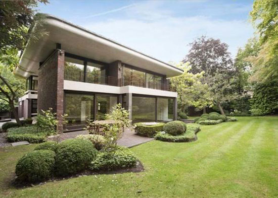On the market: 1960s architect-designed property on Beechworth Close, Hampstead, London NW3