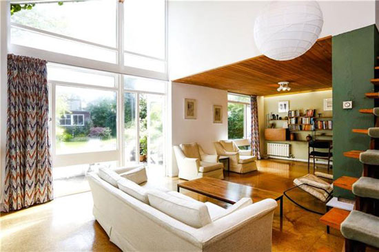On the market: 1960s Norman Plastow-designed midcentury property in London SW20