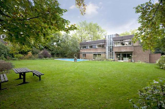 On the market: 1960s seven-bedroom modernist property in Hampstead Village, London NW3