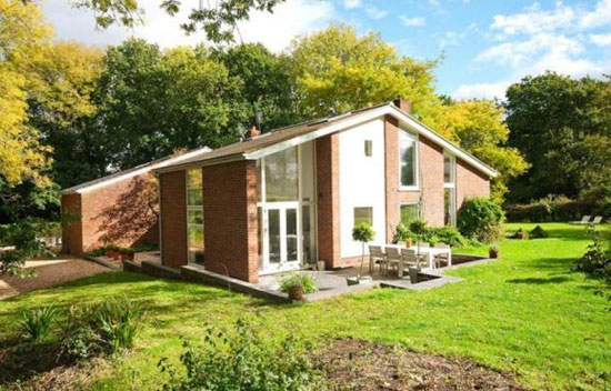 On the market: 1960s Snap House five-bedroom property in Liss, Hampshire