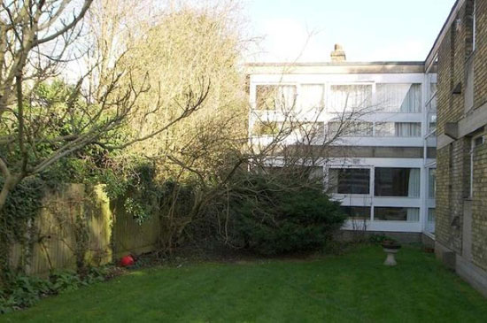 On the market: Two-bedroom modernist apartment in the grade II-listed Langham House Close, Ham, Richmond, Surrey