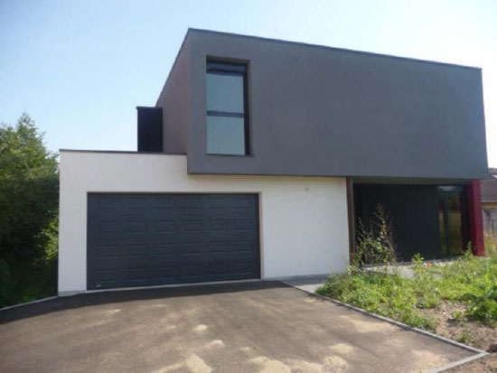 On the market: Three-bedroom contemporary modernist property in Ham-sous-Varsberg, north-eastern France