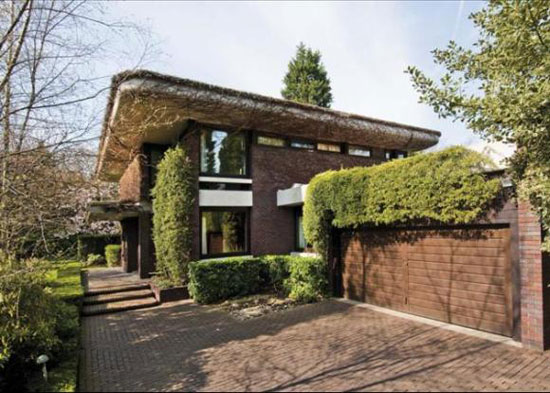 1960s architect-designed property on Beechworth Close, Hampstead, London NW3