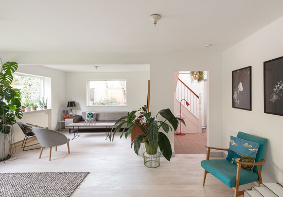 1960s modernist property in Hamilton Park West, London N5