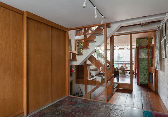 1950s Bill Howell and Stan Amis-designed modernist property in South Hill Park, Hampstead, London NW3