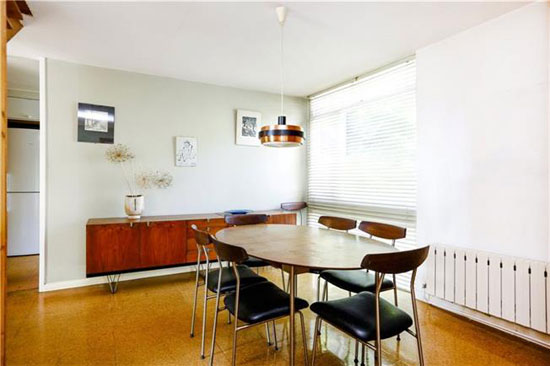 1960s Norman Plastow-designed midcentury property in London SW20