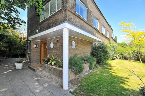 To let: Grade II-listed E.L. Freud-designed 1930s modernist house in Hampstead, London, NW3