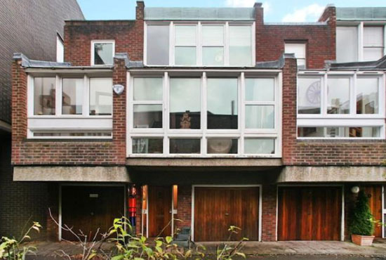 On the market: 1970s two-bedroom architect-designed modernist property in Hampstead Village, London NW3