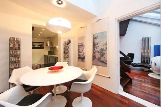 1970s two-bedroom architect-designed modernist property in Hampstead Village, London NW3